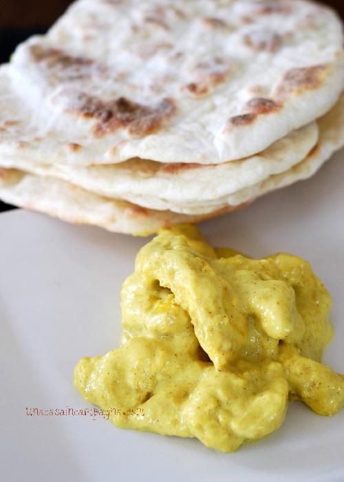 Pollo al curry a modo mio