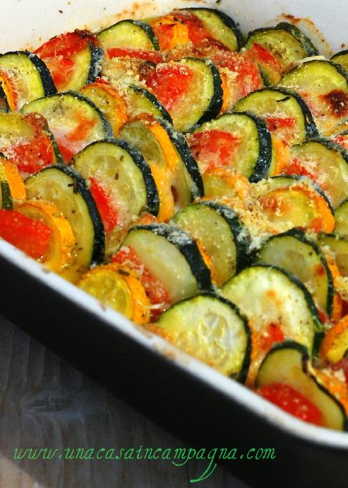 Gratin di zucchine alla provenzale