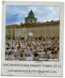 Unconventional Dinner Cena in Bianco Torino 2013