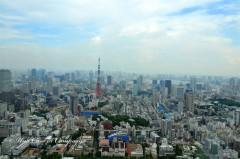 1. Panorama dal Tokyo City View - 10 cose da fare a Tokyo - Una casa in campagna