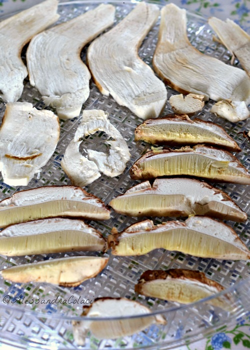 Funghi porcini essicati- una casa in campagna ©Alessandra Colaci