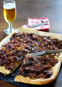 Pizza rustica tonno cipolle - ©Alessandra Colaci Una casa in campagna