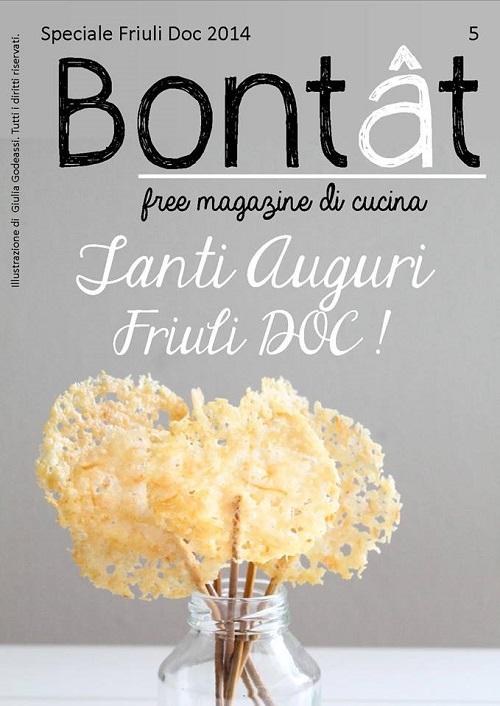 E' uscito lo speciale di Bontât dedicato a Friuli Doc!