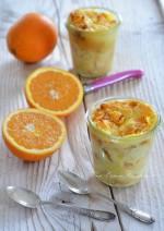 Pudding di panettone con le arance di Ribera DOP