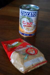 Paprika di Szeged e Crauti cotti in scatola