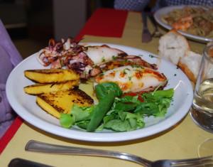 Trattoria la Palanca - Venezia - Calamari alla griglia