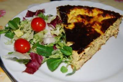 Quiche al tonno light