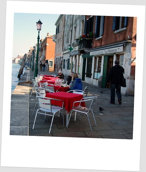 Trattoria la Palanca a Venezia
