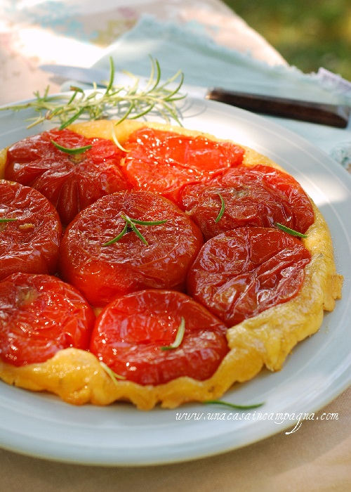 Tarte Tatin ai pomodori