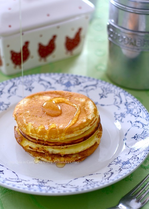 Pancakes al Buttermilk per un brunch di compleanno