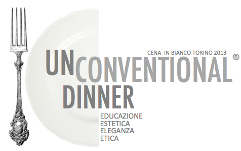 Unconventional Dinner Cena in Bianco Torino 2013