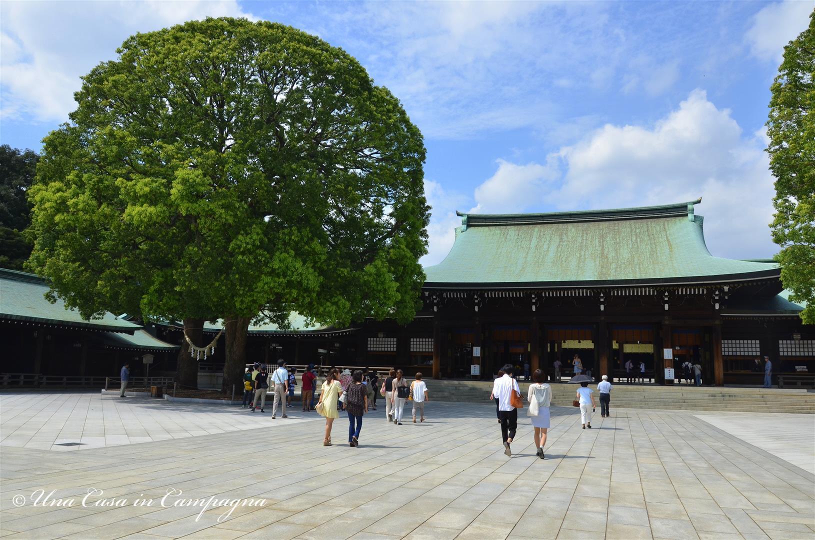 3.Meiji-jingu - dieci cose da fare a Tokyo - una casa in campagna