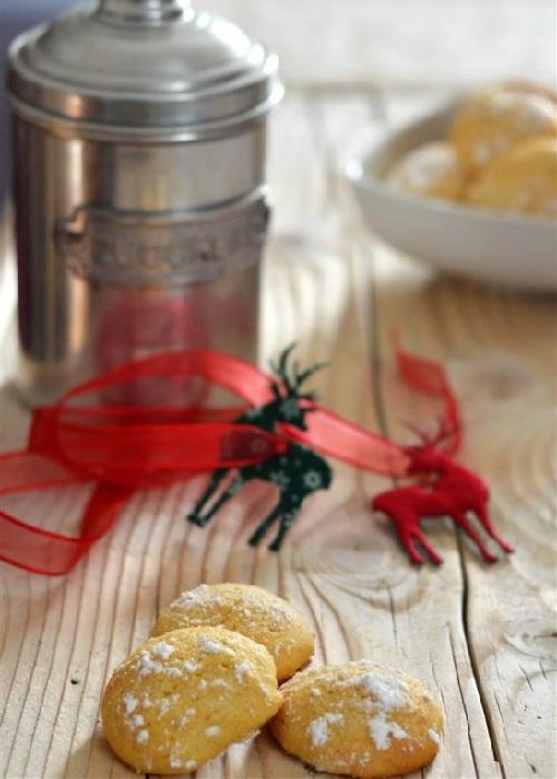 Biscotti alla scorza d'arancia, miele e olio extra vergine d'oliva
