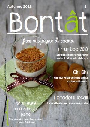 Bontât il primo free magazine di cucina online del Friuli Venezia Giulia