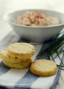 Biscottini dolci salati con Liptauer - Una casa in campagna ©Alessandra Colaci