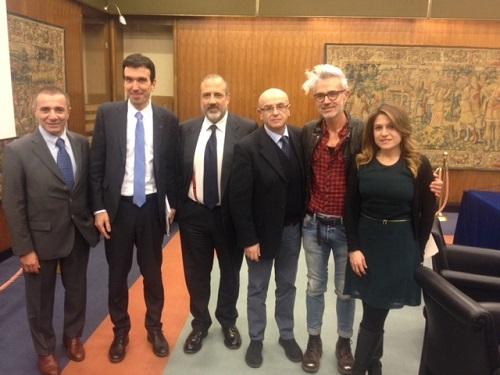 Conferenza stampa Signori del Vino - Una casa in campagna - Alessandra Colaci