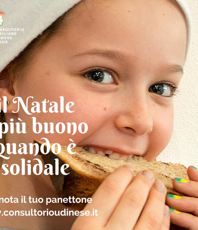 Il panettone solidale del Consultorio Familiare Udinese Onlus